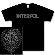 interpol t shirts