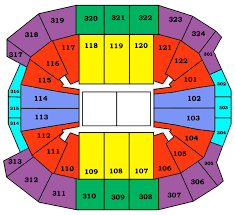 air canada centre layout