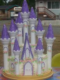 castle birthday cakes for girls