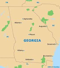 ga state map