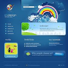colorful web design