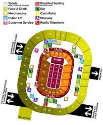 men arena seating plan