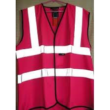 pink reflective vest