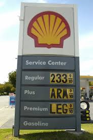 pictures of high gas prices