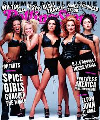 spice girls names and pictures