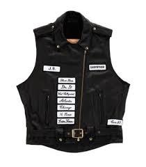 motorcycle vest