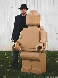 cardboard figure