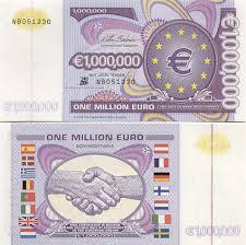 one million euro