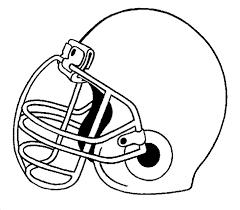 blank football helmets