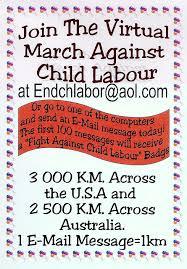 child labour poster
