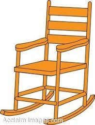 clip art rocking chair