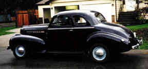 1939 oldsmobile coupe