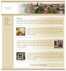 free home page templates