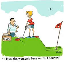 golf cartoon