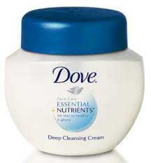 dove face cream