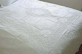 lace bed linen