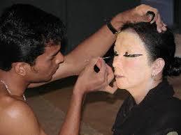 bharatanatyam makeup