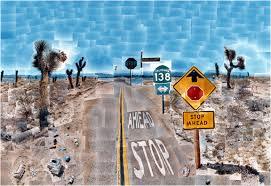 hockney pearblossom highway