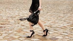 metal heeled shoes