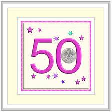 birthday cards 50th