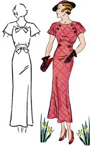 1930 dress patterns