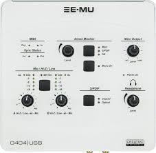 emu 0404 usb white