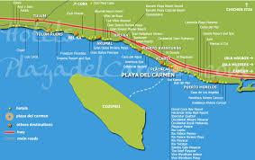 riviera maya resort map