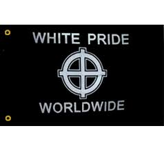 white pride flags