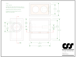 subwoofer box blueprints