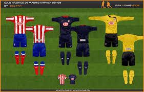 atletico madrid kit