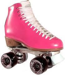 hot pink roller skates