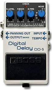 boss dd5 delay