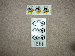 arai sticker