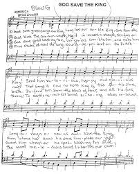 god save the queen sheet music