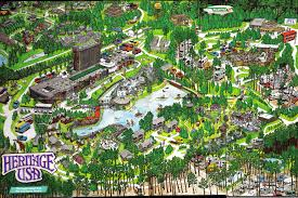 amusement parks maps