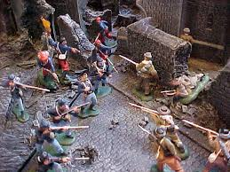 medieval toy soldiers