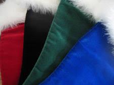 black christmas stockings