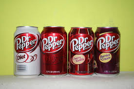 dr pepper light