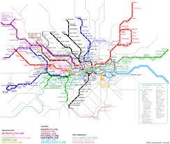 map subway london