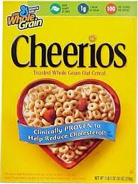 cheerios cereals