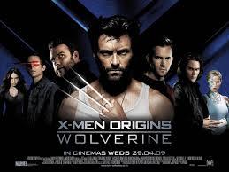 x men origins wolverine poster
