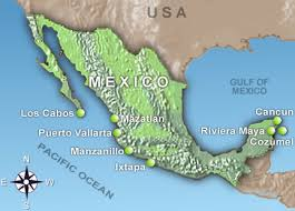 mexico airport map