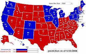 2008 electoral votes