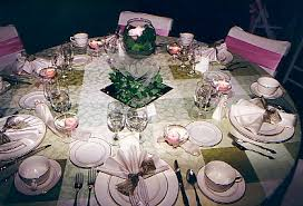 table decorations flowers