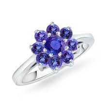 tanzanite wedding rings