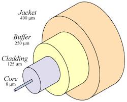 single mode optical fibre