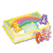 care bear birthday cakes