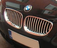 bmw chrome grills