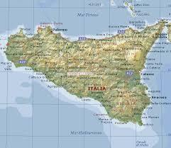 cartina sicilia