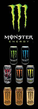 monster energy drink cans